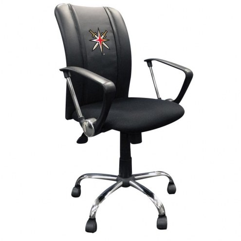 Vegas Golden Knights XZipit Curve Desk Chair with Secondary Logo