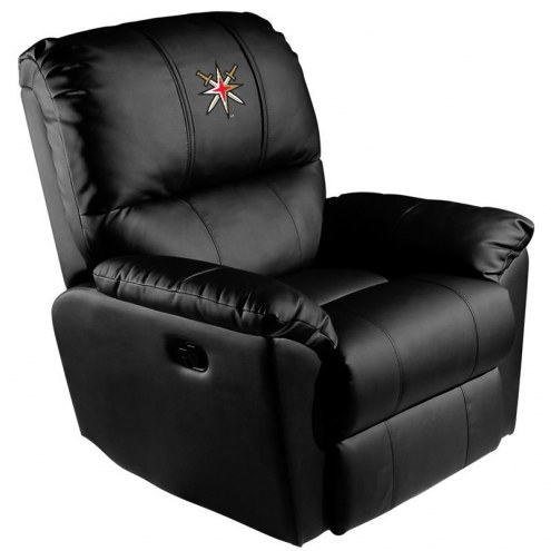 Vegas Golden Knights XZipit Rocker Recliner with Secondary Logo