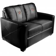 Vegas Golden Knights XZipit Silver Loveseat with Secondary Logo