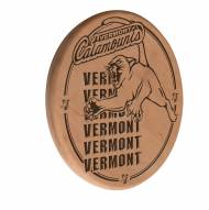 Vermont Catamounts Laser Engraved Wood Sign