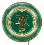 Vermont Catamounts Neon Clock