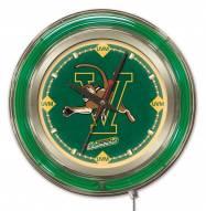 Vermont Catamounts Neon Clock