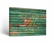 Vermont Catamounts Weathered Canvas Wall Art