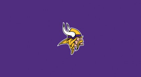 Minnesota Vikings NFL Team Logo Billiard Cloth