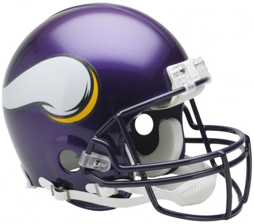Riddell Minnesota Vikings Authentic VSR4 NFL Football Helmet