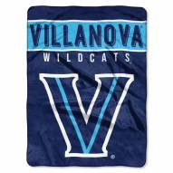 Villanova Wildcats Basic Plush Raschel Blanket