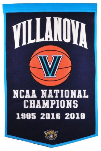 Villanova Wildcats College Dynasty Banner