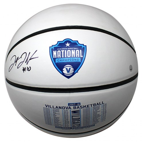 Villanova Wildcats Donte DiVincenzo Signed 2018 National Champions Full Size Basketball