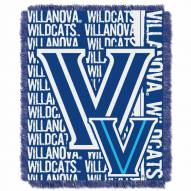Villanova Wildcats Double Play Woven Throw Blanket