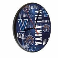 Villanova Wildcats Digitally Printed Wood Clock
