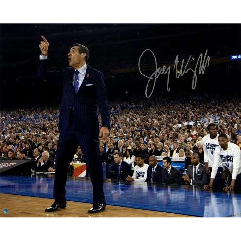 "Villanova Wildcats Jay Wright Sideline Point 2016 National Championship Signed 16"" x 20"" Photo"