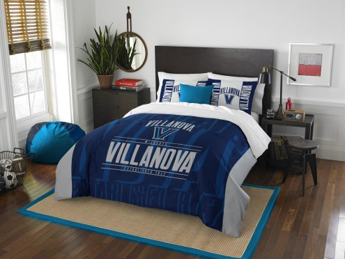 Villanova Wildcats Modern Take Full/Queen Comforter Set