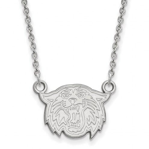 Villanova Wildcats Sterling Silver Small Pendant Necklace