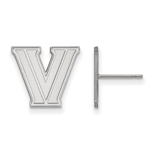 Villanova Wildcats Sterling Silver Small Post Earrings