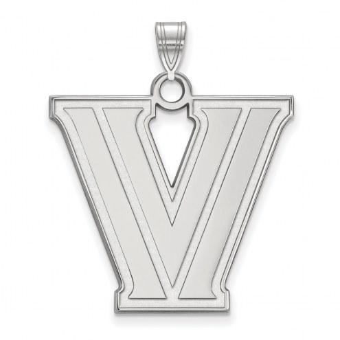 Villanova Wildcats Sterling Silver Extra Large Pendant