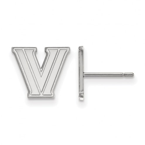 Villanova Wildcats Sterling Silver Extra Small Post Earrings