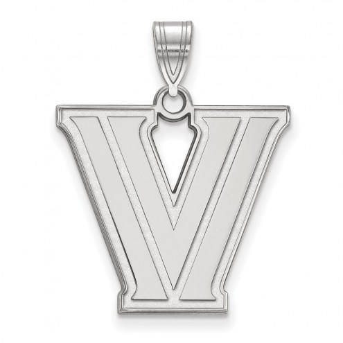 Villanova Wildcats Sterling Silver Large Pendant