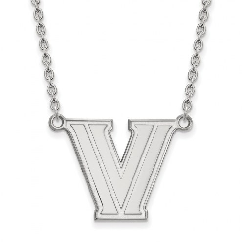 Villanova Wildcats Sterling Silver Large Pendant Necklace