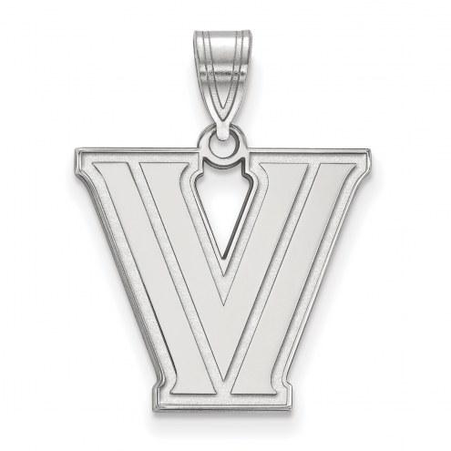 Villanova Wildcats Sterling Silver Medium Pendant