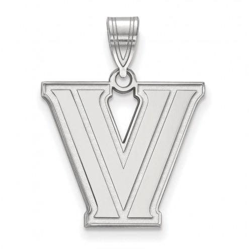 Villanova Wildcats Sterling Silver Medium Pendant