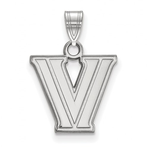 Villanova Wildcats Sterling Silver Small Pendant