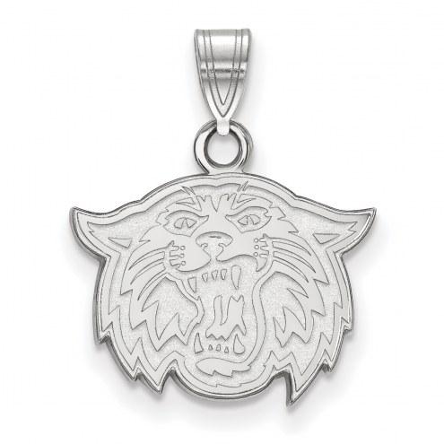Villanova Wildcats Sterling Silver Small Pendant