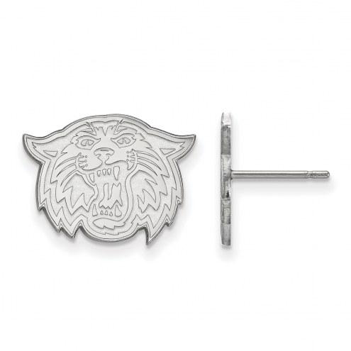 Villanova Wildcats Sterling Silver Small Post Earrings