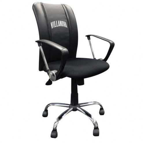 Villanova Wildcats XZipit Curve Desk Chair with Wordmark Logo