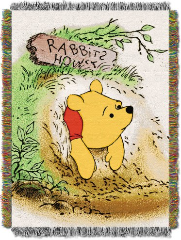 Vintage Pooh Throw Blanket