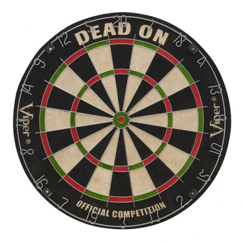 Viper Dead-On Bristle Dart Board