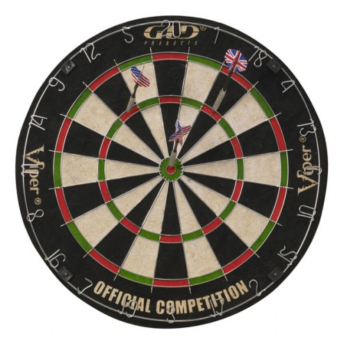 Viper Shot King Bristle Dart Board