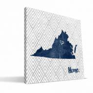 "Virginia Cavaliers 12"" x 12"" Home Canvas Print"