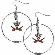 """Virginia Cavaliers 2"""" Hoop Earrings"""