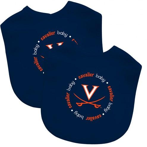 Virginia Cavaliers 2-Pack Baby Bibs