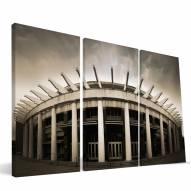 "Virginia Cavaliers 24"" x 48"" Stadium Canvas Print"