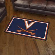 Virginia Cavaliers 3' x 5' Area Rug