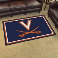 Virginia Cavaliers 4' x 6' Area Rug