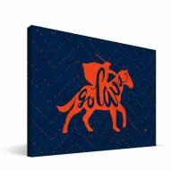 "Virginia Cavaliers 8"" x 12"" Mascot Canvas Print"