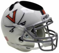 Virginia Cavaliers Alternate 6 Schutt Football Helmet Desk Caddy