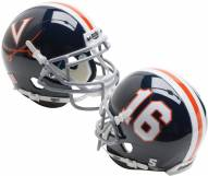 Virginia Cavaliers Alternate 7 Schutt Mini Football Helmet