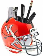 Virginia Cavaliers Alternate Schutt Football Helmet Desk Caddy