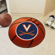 Virginia Cavaliers Basketball Mat