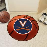 Virginia Cavaliers Basketball Mat