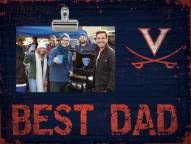 Virginia Cavaliers Best Dad Clip Frame