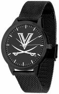 Virginia Cavaliers Black Dial Mesh Statement Watch