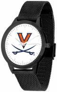 Virginia Cavaliers Black Mesh Statement Watch