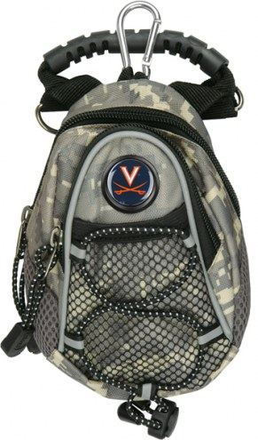Virginia Cavaliers Camo Mini Day Pack