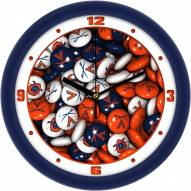 Virginia Cavaliers Candy Wall Clock
