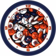 Virginia Cavaliers Candy Wall Clock