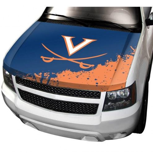 Virginia Cavaliers Car Hood Cover